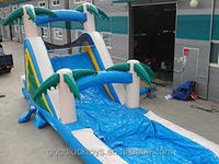 30'H giant inflatable water slide slip slide for adult