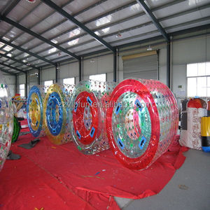 Top grade crazy selling infaltable water roller ball for water park