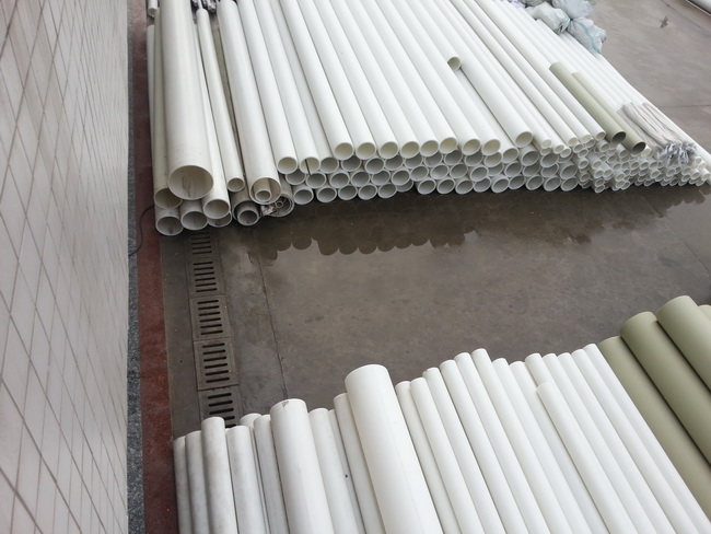 china manufacture glass fiber reinforced polypropylene pipe pp plastic pipe