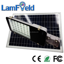 Auto Turn on off 30W Solar LED Street Light With 60W 18V Solar Panel