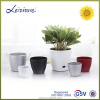 decorative plant pot,bright color flower pot,cheap plastic flowerpots