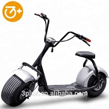 Cheap citycoco electric scooter one seat haley scooter 1000w 12ah
