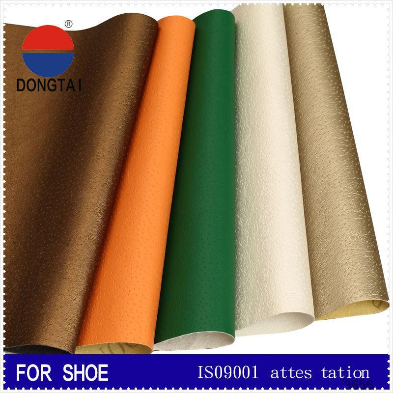 Leader enterprises artificial vinyl synthetic leather Free samples