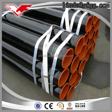 ASTM A795 A53 A500 schedule 40 black painted iron pipe price per ton