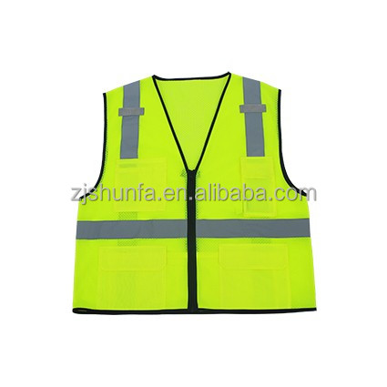 Summer cheap Safety vest with reflective tape