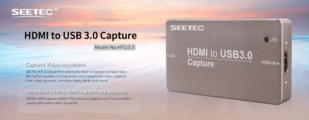 SEETEC USB 3.0 Video Capture Box for video streaming