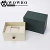 Super elegant custom watch paperboard box with drawer
