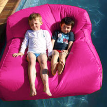 PINK -- XXL large blue outdoor float bean bag, pool side waterproof beanbag chair, extra wide Giant bean lounge
