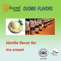 PG based vanilla flavouring food flavor for ice cream