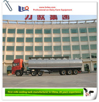 High quality milk transportation truck 8000 to 40000L