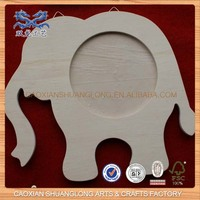 new wooden elephant-shape picture frame