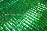 AMERICAN KNIT SQUARE SPANGLE MESH FABRIC (MADE IN KOREA)