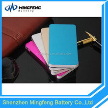 Fast chareging metal shell 10000mah super slim power bank