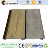 WPC wood plastic composite grey panel outside