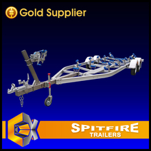 Spitfire Aluminum RC Boat Trailer for Europe