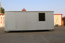 2014 China plastic outdoor 10fold container house