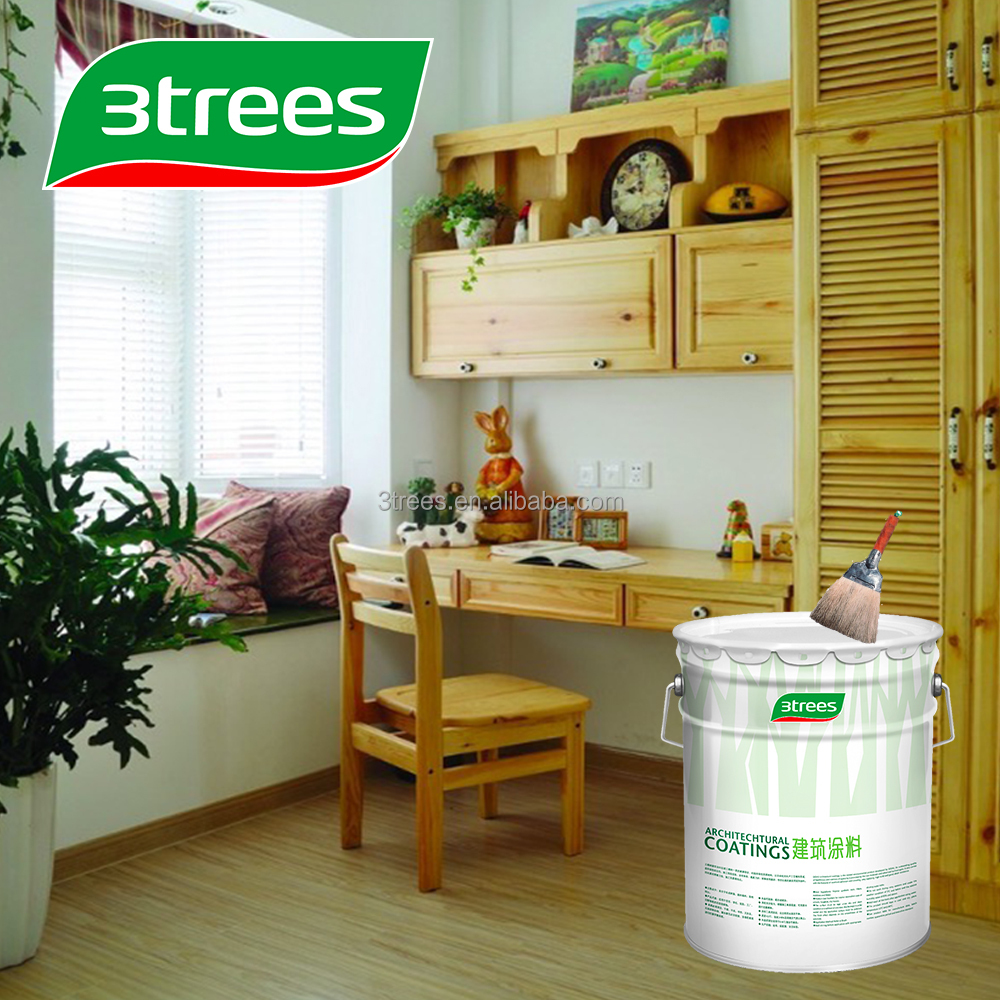 3TREES High Solid Transparent PU Furniture Paint Sealer