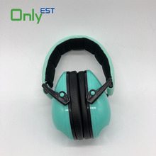 Wholesale ear protector industrial Safety Ear Muffs foldable noise cancelling safety earmuff