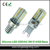 Mini Silicone Capsule E14 G9 G4 LED Lamp