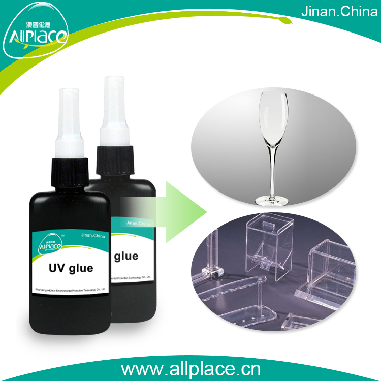UV Curing Glue For Glass To Metal