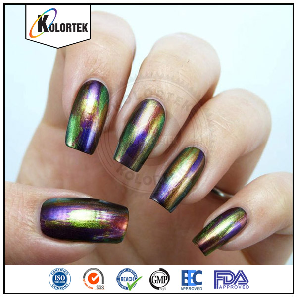 Colour changing chameleon pigment powder, chameleon powder nails, cameleon powder factory price