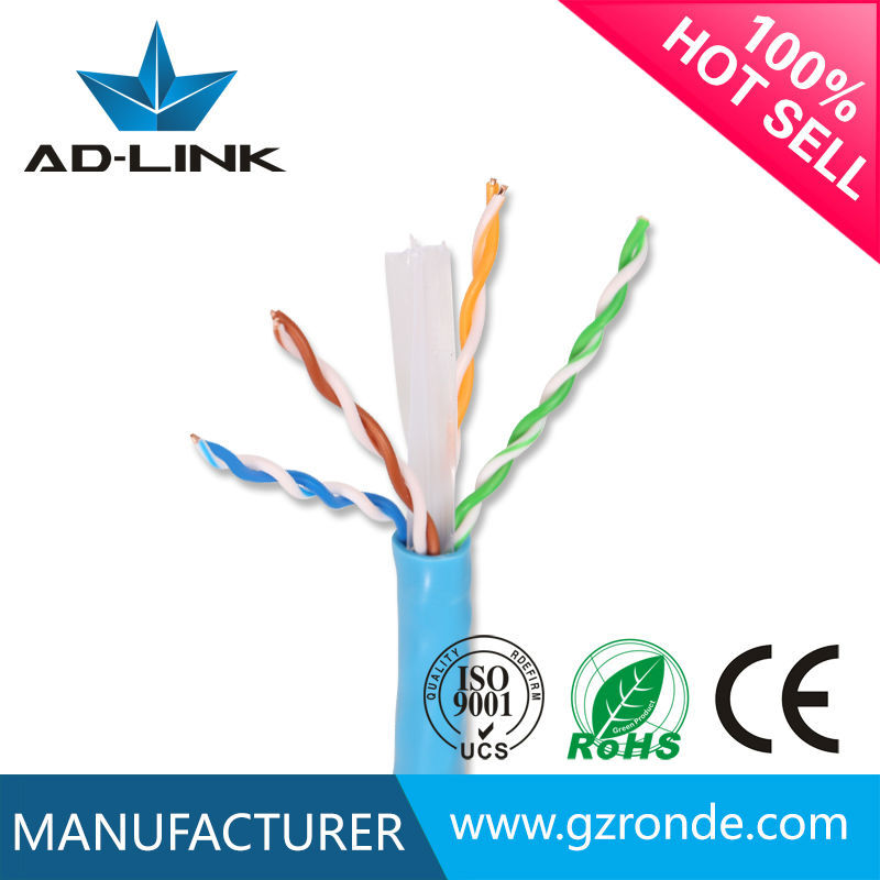 Wholesale best price lan BC /CU/OFC 23awg cat 6 <strong>u</strong>/utp lan cable