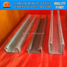 S235JR Galvanized Steel C Channel