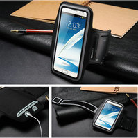Luxury stylish cover for galaxy note 2, arm band case for note 2, smart cover case for samsung galaxy note 2