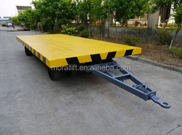 Industrial Four wheel moving towing trolley