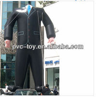 2013 hot sale inflatable PVC garment model for advertising