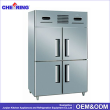1.5LG4 commercial cold storage fan cooling refrigerator packing display freezer can be customized with glass door