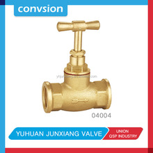 Pass Flowing medium oil water and gas cheap brass stop valve