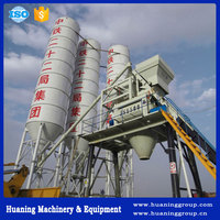 Low Price Hopper Feeding Type 98(cu yd)/h Concrete Batching Plant