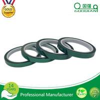 OEM 180C High Temperature Green Polyester Silicone Tapes Adhesive