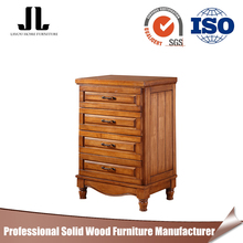 Multiple layers cheap solid wood bedroom 4 chest of drawers