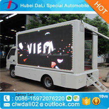 Foton 4X2 Mobile advertisement truck,scrolling advertising trucks,led mobile advertising truck for sale