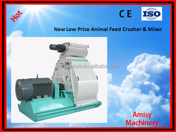 2017 SFSP Best selling automatic animal feed crusher and mixer hammer mill with CE certificate