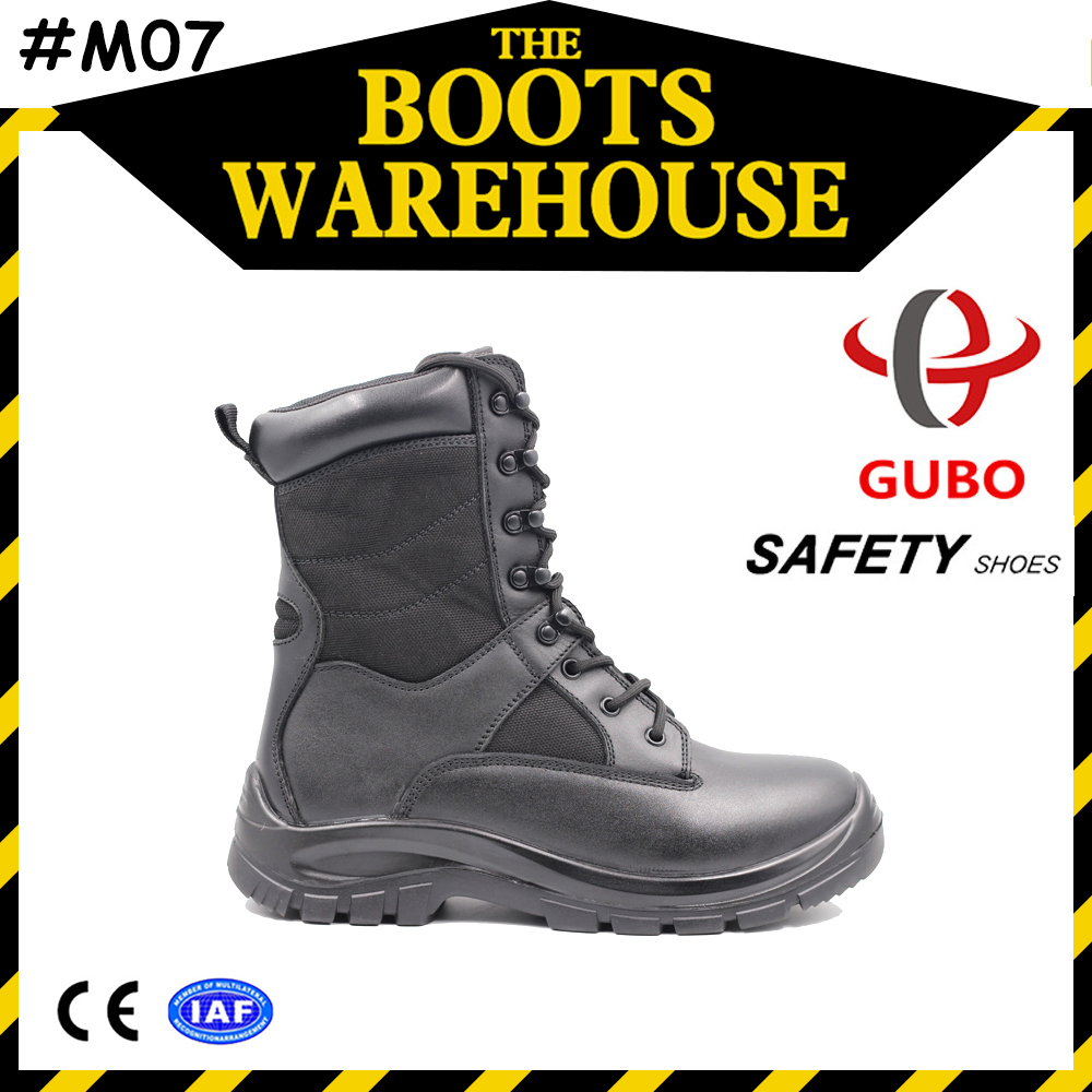 full grain leather waterproof battlefield army combat boots