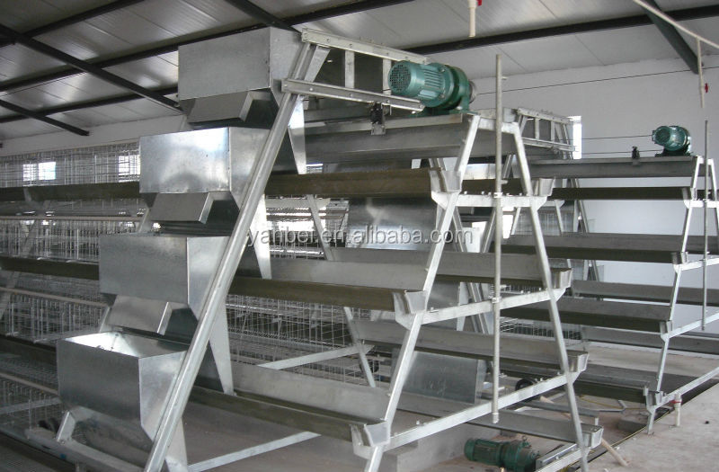 9WCD 4 Tiers A-Type Hot Galvanized Chicken Animal Cage