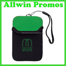Waterproof neoprene Cell phone pouch with Wrist String,Neoprene Phone Pouch