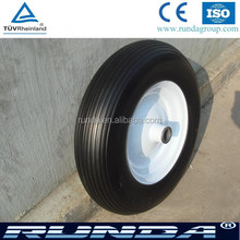 16inch solid pu material puncture proof tyres