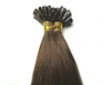 double drawn nail tip keratin indian hair extensions