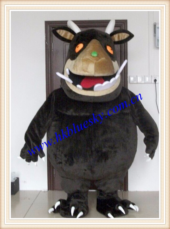 2016 adult giant gruffalo mascot costume