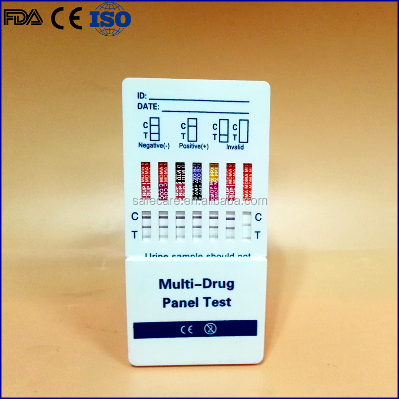 Rapid dignostic test kit, Urine drug test strip/cassette/card;coc;met;mdma;mor