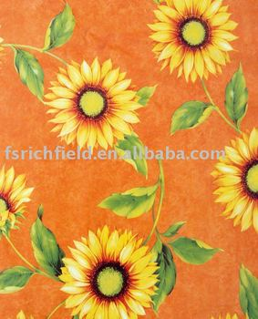 sunflower table cover