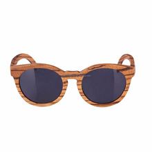 Amexi100%2018 high quality zebra pattern wooden sunglasses UV400 polarized belt protection sunglasses