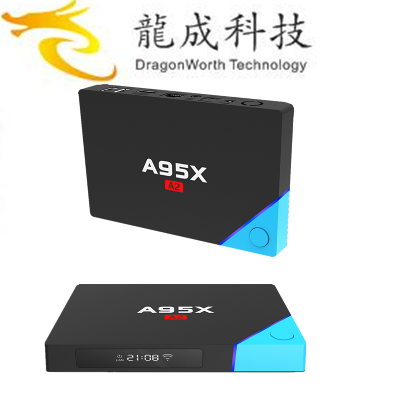 2017 high quality A95X A2 S912 3GB 32GB google iptv box with CE certificate ott 6.0tv