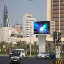 Big Advertising Billboard P6 outdoor led display with 192x192mm 1/8 scan