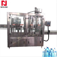 Automatic small scale bottle filling machine for drinking water