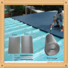 Silver inside bubble sandwich thermal insulation building materials